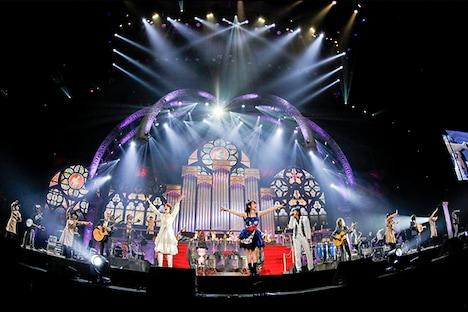 水樹奈々「NANA MIZUKI LIVE THEATER 2015 -ACOUSTIC-」の様子。(Photo by hajime kamiiisaka)