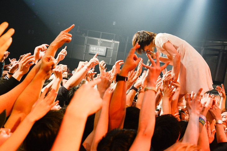 後藤まりこ「私のRe:booooot ワンマンツアー」赤坂BLITZ公演の様子。