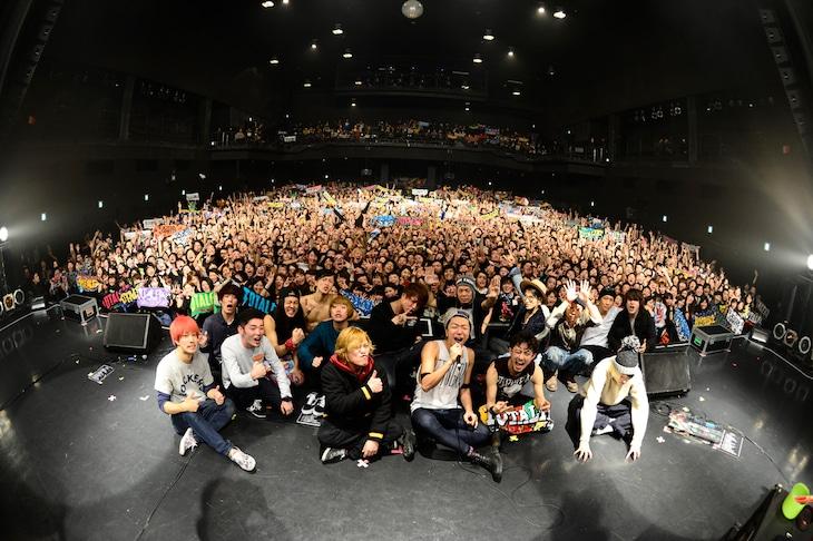 「PUNISHER'S NIGHT 2015」公演の様子。(Photo by AZUSA TAKADA)