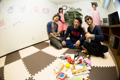会場に用意された託児所。(Photo by Yoshifumi Shimizu)