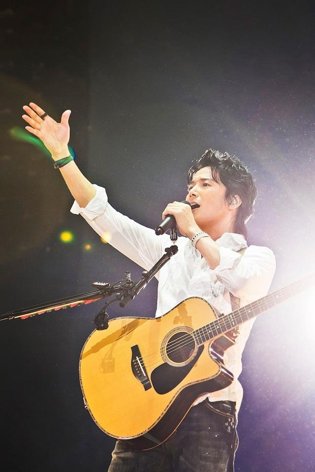 「福山☆冬の大感謝祭 其の十四 お待たせしました! あなたの街でもオープンしちゃわnight(ナイト)!! 旅する音楽の館、 Hotel(オテル) de(デ) Fukuyama III」宮城・セキスイハイムスーパーアリーナ公演の様子。