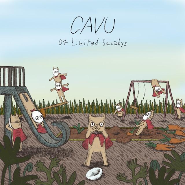 04 Limited Sazabys「CAVU」通常盤ジャケット