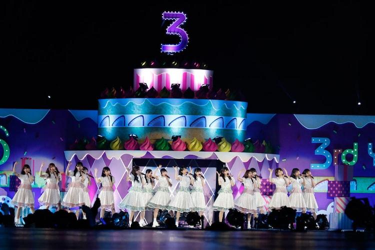 乃木坂46「乃木坂46 3rd YEAR BIRTHDAY LIVE」の様子。