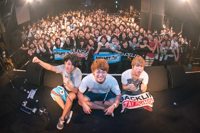 BACK LIFT「Ten Years Later TOUR 2014-2015」東京・渋谷CLUB QUATTRO公演の様子。(撮影:ヤオタケシ)