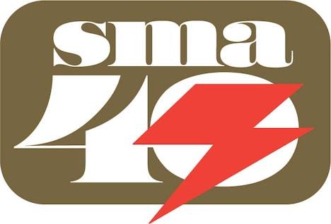 「SMA40th」ロゴ