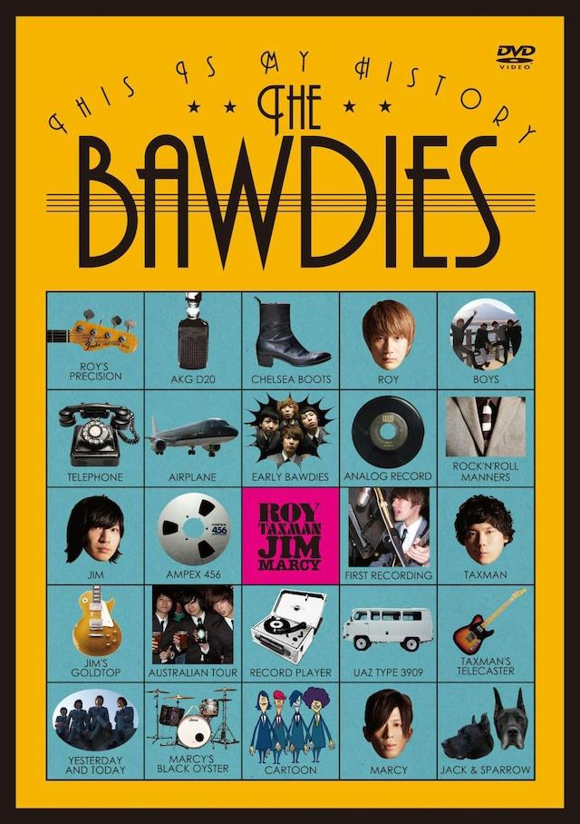 THE BAWDIES「THIS IS MY HISTORY ~日本武道館公演記念盤~」ジャケット