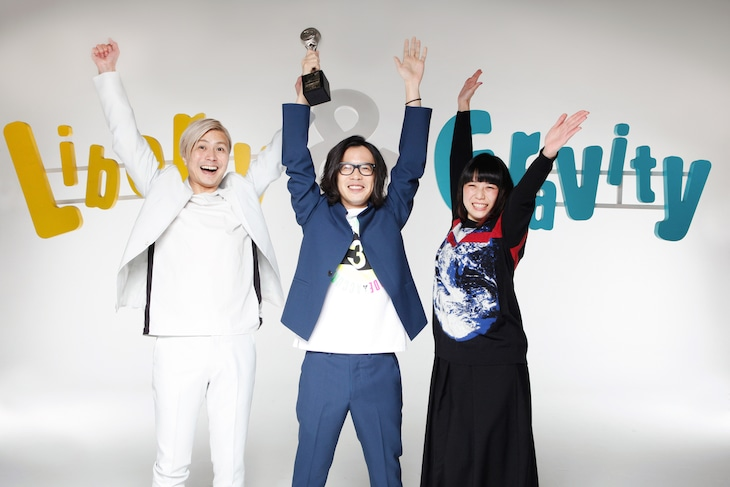 「Liberty&Gravity」で「BEST VIDEO OF THE YEAR」を受賞したくるり。
