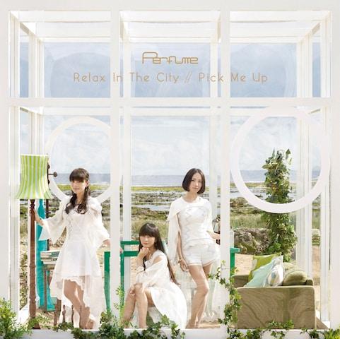 4月29日発売のシングル「Relax In The City / Pick Me Up」完全限定生産盤ジャケット