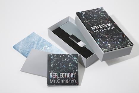 Mr.Children「REFLECTION {Naked}」ボックスの展開図見本。
