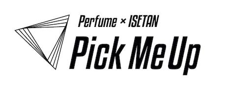 Perfume×伊勢丹「Pick Me Up」ロゴ (c)Amuse