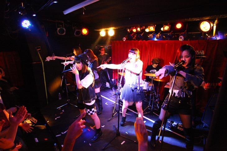 「SRAM 'H''BEAT LIVE Beat#1」ライブの様子。