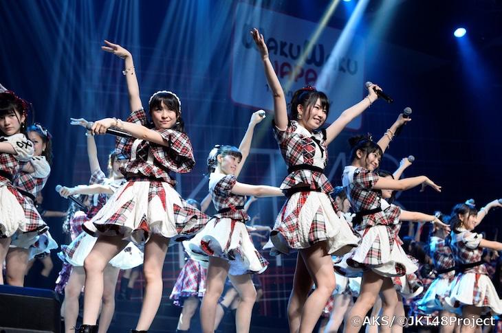 「AKB48 and JKT48 CONCERT TOGETHER」の様子。