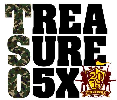 「TREASURE05X 2015 -rising force ! -」ロゴ