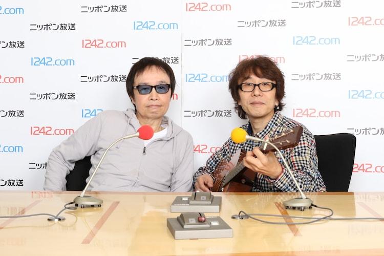 吉田拓郎と坂崎幸之助。