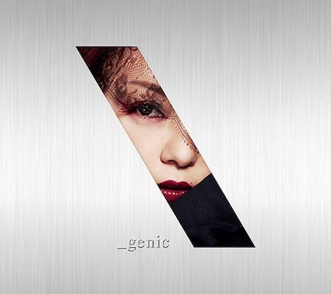 安室奈美恵「_genic」CD+DVD盤ジャケット