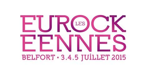 「Les Eurockeennes」ロゴ