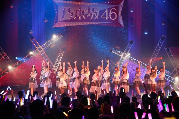 「乃木坂46 アンダーライブ3rdシーズン」の様子。