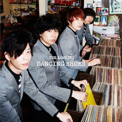 THE BAWDIES「DANCING SHOES」配信ジャケット