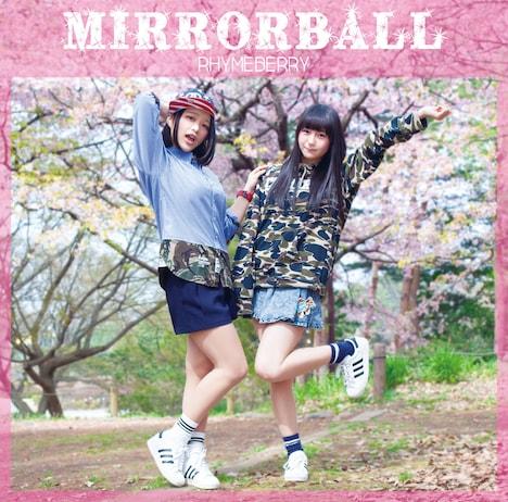 ライムベリー「MIRRORBALL」ジャケット
