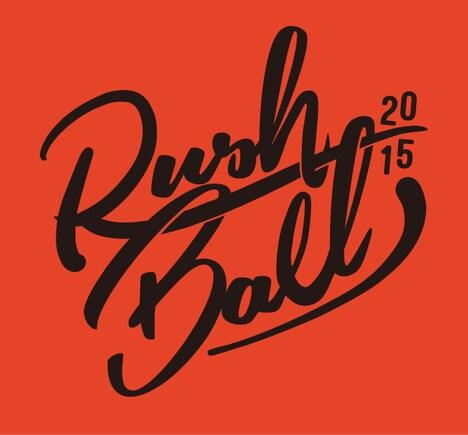 「RUSH BALL 2015 feat. GREENS 25th Anniv.」ロゴ