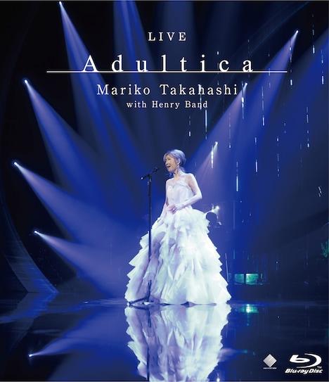 高橋真梨子「LIVE Adultica」Blu-rayジャケット