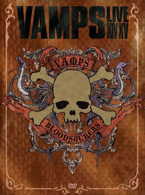VAMPS「VAMPS LIVE 2014-2015」DVD初回限定盤ジャケット
