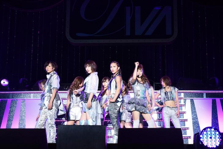 昨年11月に幕張メッセで実施された「DIVAプレミアムライブ」の様子。 (c)テレビ朝日