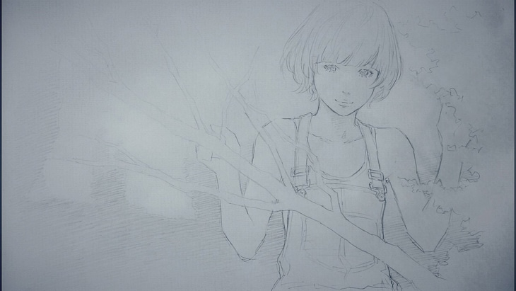 Goodbye holiday「革命アカツキ」ミュージックビデオのワンシーン。
