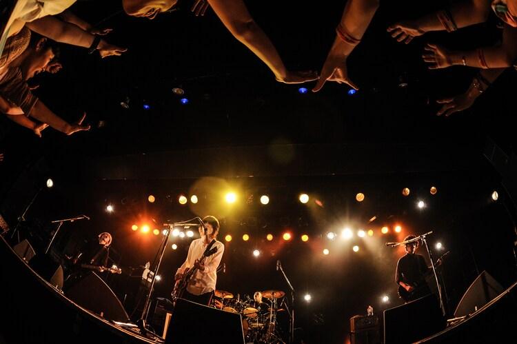 「MAGIC OF LiFE LIVE TOUR 2015」東京・LIQUIDROOMの様子。(Photo by Yusuke Satou)