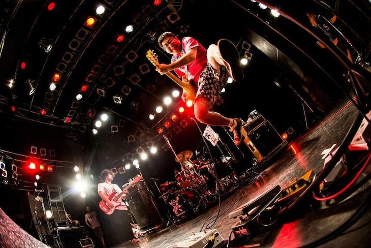 サンボマスター「3×ボ=15 ANNIVERSARY サンボマスターとキミ TOUR 2015」yokohama Bay Hall公演の様子。(撮影:浜野カズシ)