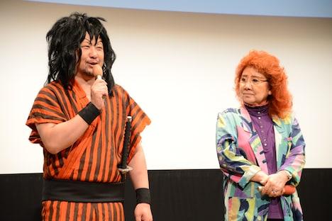 ケンドーコバヤシと野沢雅子。