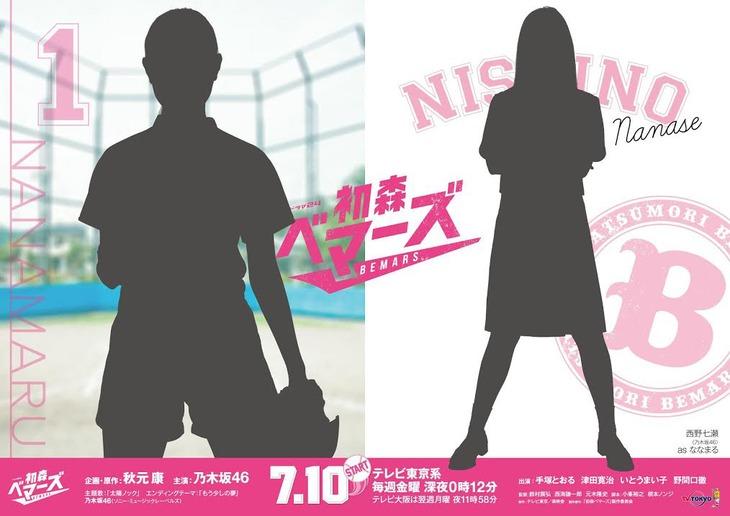 東京メトロ12駅に掲出されるポスターのイメージ。(c)「初森ベマーズ」製作委員会