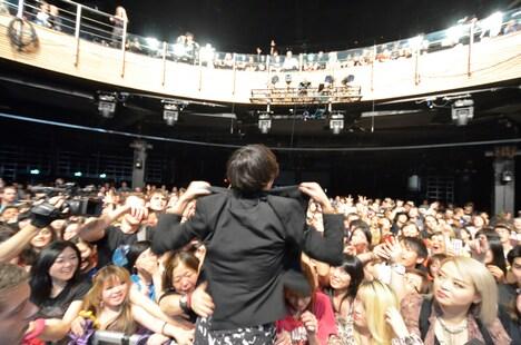 [Alexandros]のライブの様子。(写真提供:JAPAN NIGHT実行委員会)