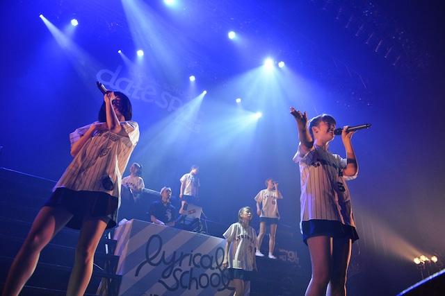 """「lyrical school tour 2015 """"date spot""""」最終公演の様子。"""