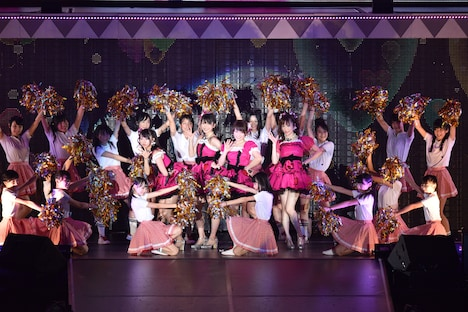 「AKB48真夏の単独コンサート in さいたまスーパーアリーナ~川栄さんのことが好きでした~」2日目夜公演の様子。(c)AKS