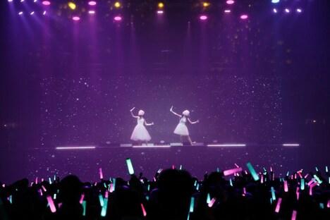 "「ClariS 1st Live ""扉の先へ""」の様子。(写真提供:SME Records)"