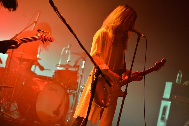 THE NOVEMBERS(Photo by AZUSA TAKADA)