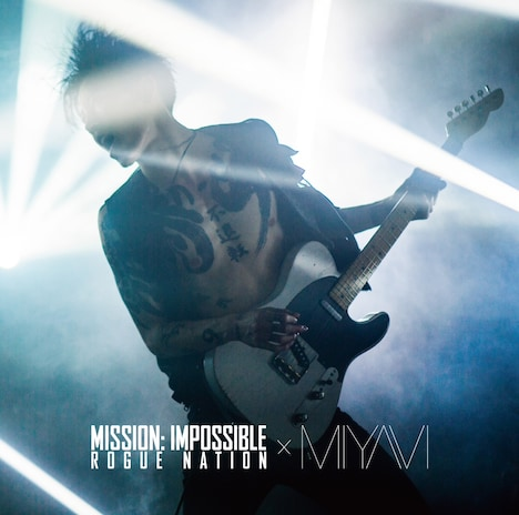 MIYAVI「Mission: Impossible Theme」ジャケット
