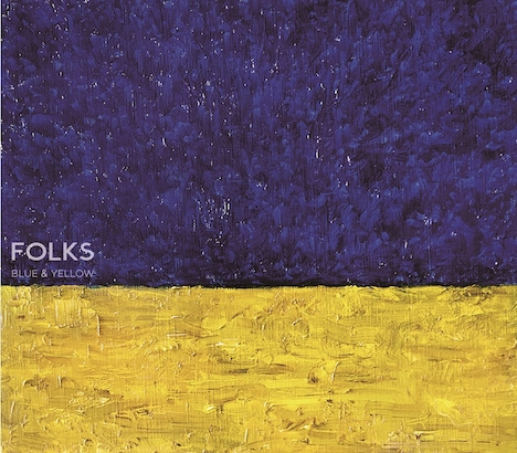 FOLKS「BLUE & YELLOW」ジャケット