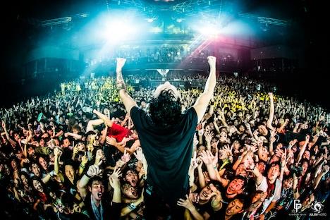 coldrain「SETLIST ELECTION LIVE 2015」の様子。