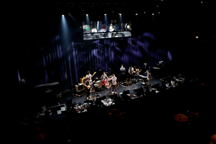 「cero ~Night Drifter Live~ special guest 黒田卓也」東京・Billboard Live TOKYO公演 2ndセットの様子。(撮影:三浦知也)
