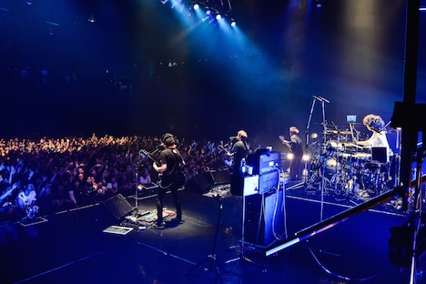 Nothing's Carved In Stone「Nothing's Carved In Stone MAZE×MAZE TOUR」東京・Zepp Tokyo公演の様子。(Photo by RUI HASHIMOTO[Sound Shooter])