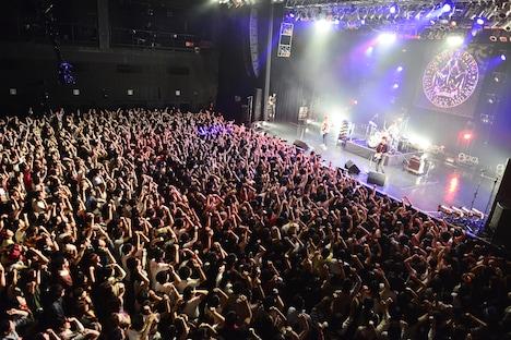 THE PREDATORSの東京・Zepp Tokyo公演の様子。(撮影:橋本塁 / SOUND SHOOTER)