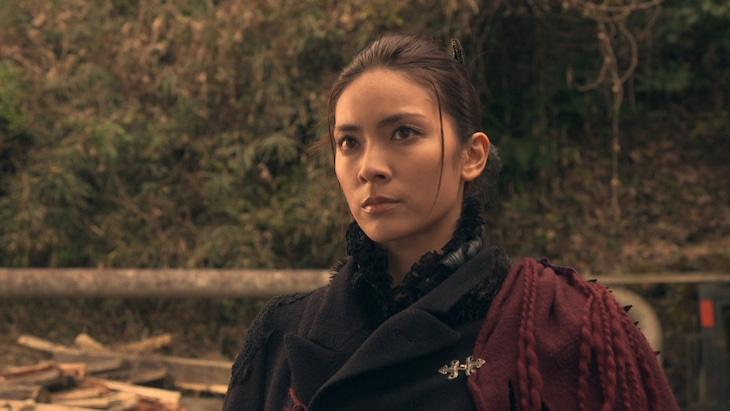 映画「媚空-ビクウ-」のワンシーン。 (c)2015「媚空」雨宮慶太 / 東北新社