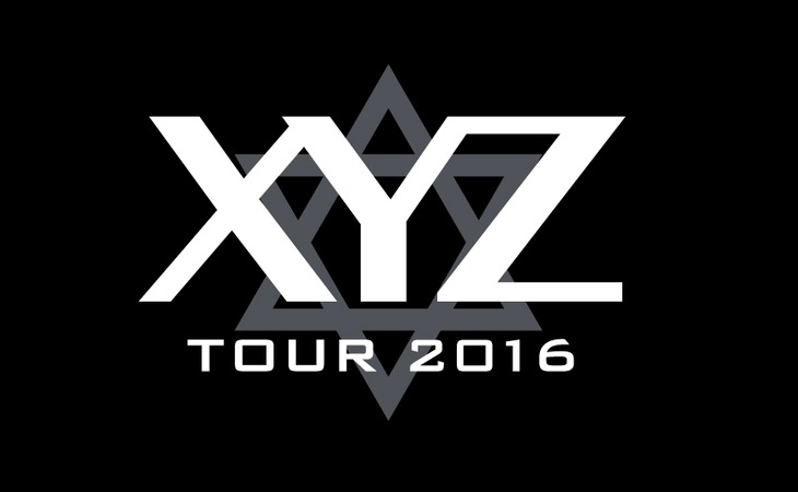 「XYZ TOUR 2016 -DJ Style-」ロゴ