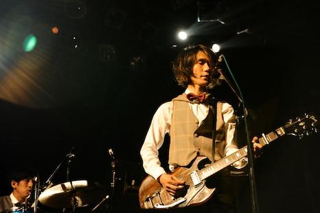 門田匡陽(Vo, G)(Photo by Coto)