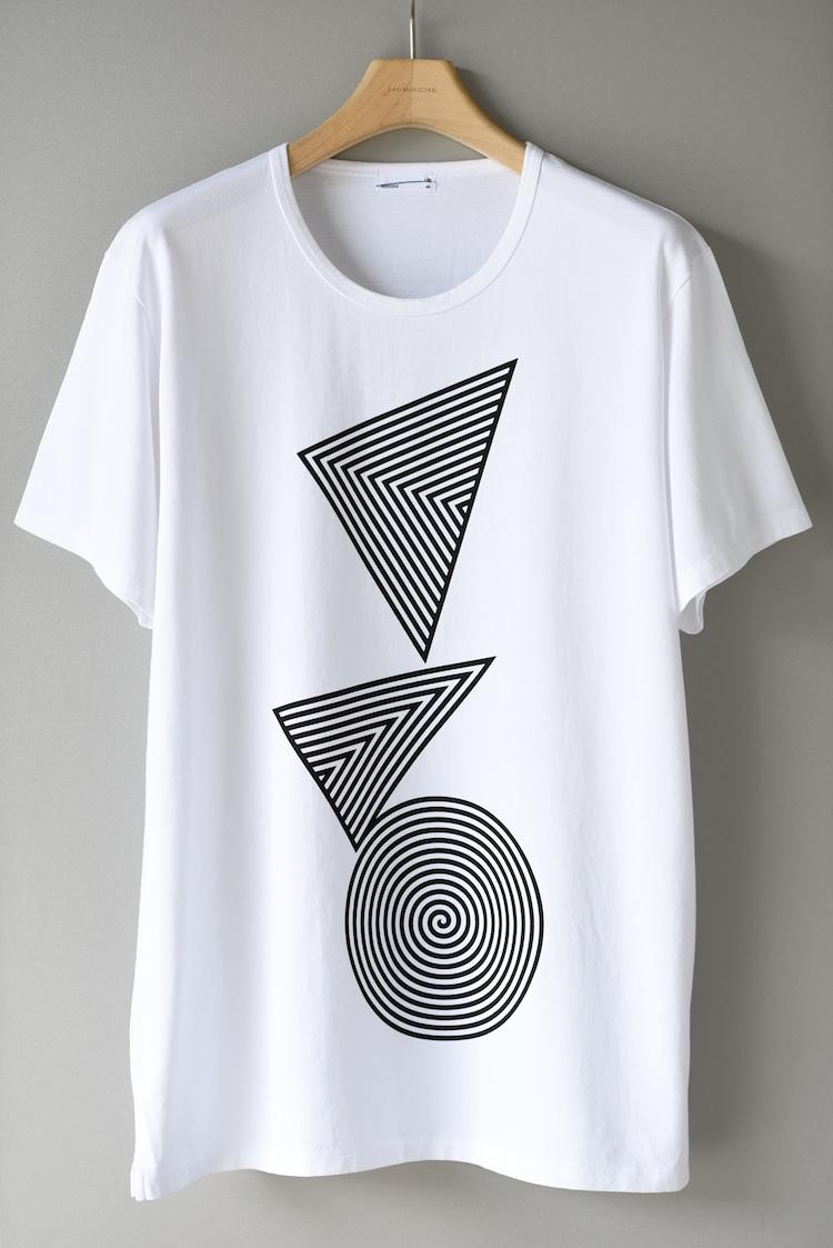 くるり×LAD MUSICIANコラボTシャツ ホワイト