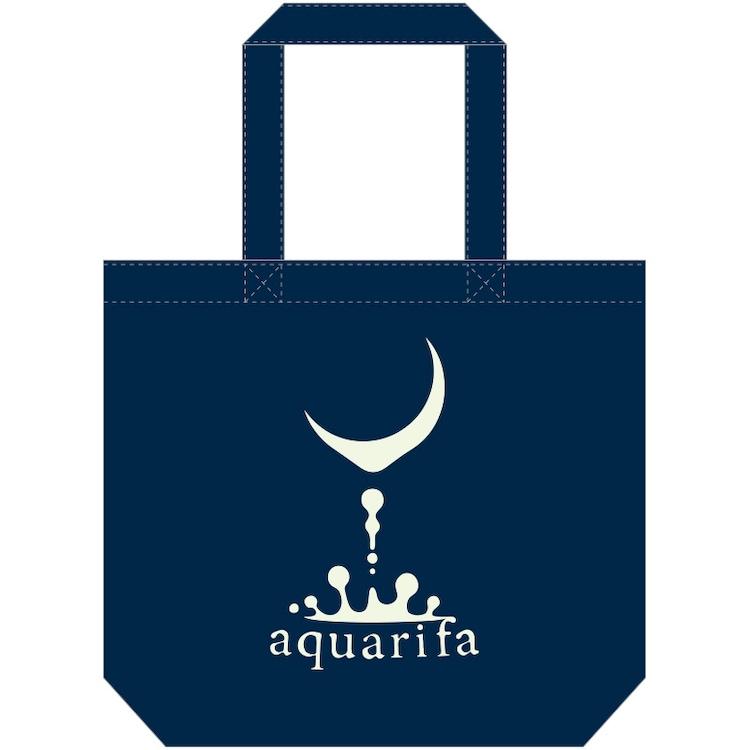 aquarifa「まだ見ぬ君へ 応答セヨ」トートバッグ