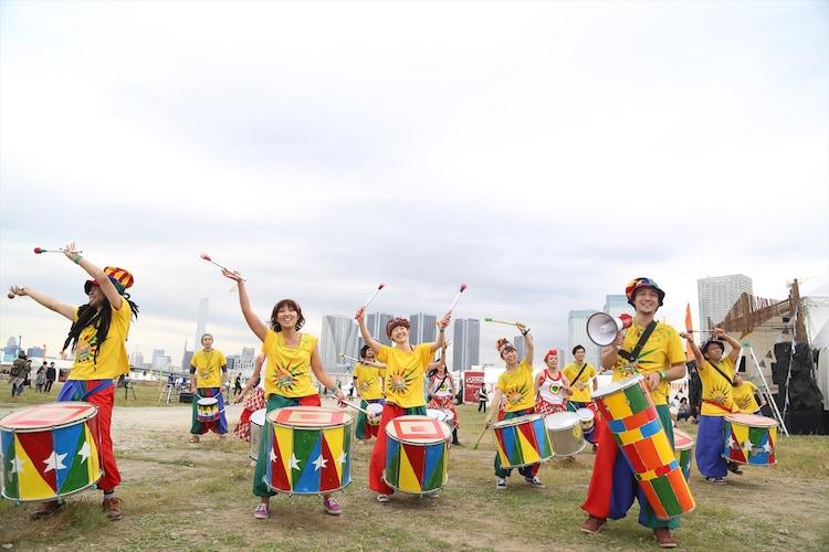 「豊洲野音CARNIVAL ~InterFM897 開局記念~」10月31日公演の様子。