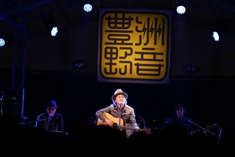 佐野元春 and The Hobo King Band (撮影:船橋岳大)